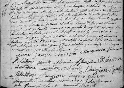 27 /01/1757 à Lyon