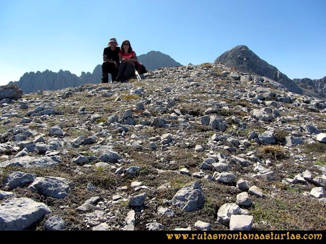 Ruta Ercina, Verdilluenga, Punta Gregoriana, Cabrones: Cima de la Torre de los Cabrones