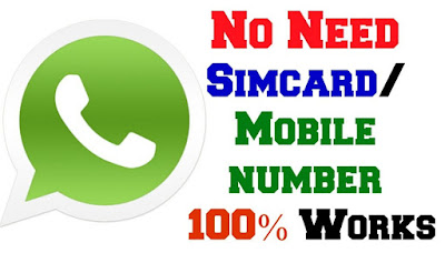 How to Use Whatsapp Without Phone Number Verification 2018