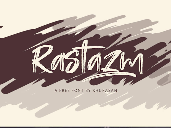 Rastazm Bold Script Font Free Download