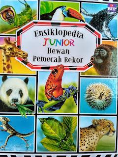 Ensiklopedia Junior Hewan Pemecah Rekor