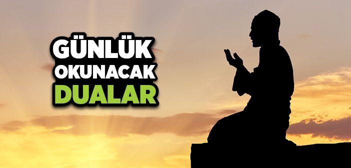 Müslümanın Günlük Duaları