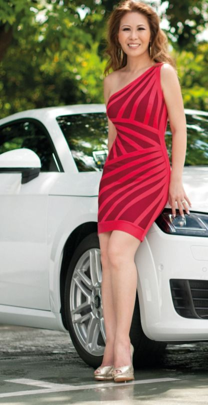 Audi Singapore's managing director Jeff Mannering described her as a 'natural fit' for the brand.