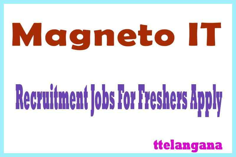 Magneto IT Recruitment Jobs For Freshers Apply