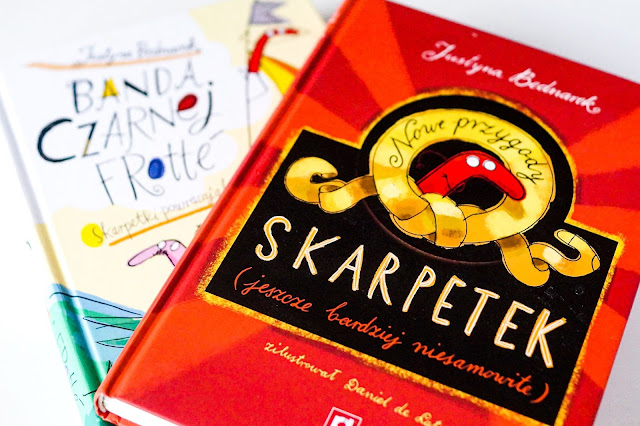 Nowe przygody skarpetek- książki, które wyjaśnią Ci zaginione w praniu elementy bielizny