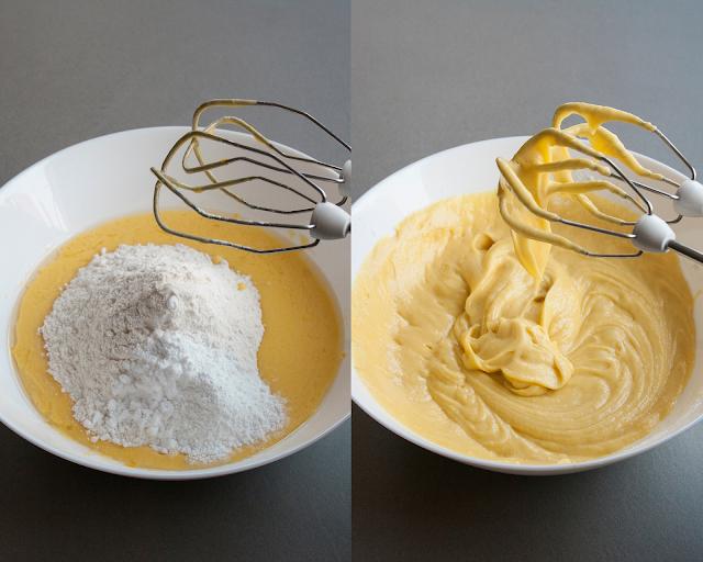 Plumcake soffice allo yogurt step 3 e 4