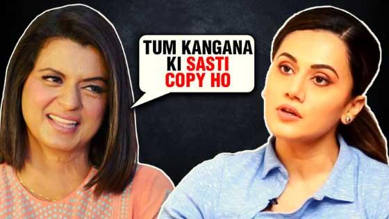 Taapsee Pannu Finally Reacts On Kangana Ranaut's Sister Rangoli Chandel's Comments