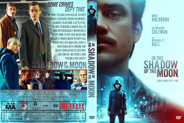 In The Shadow Of The Moon (2019) DVD Cover