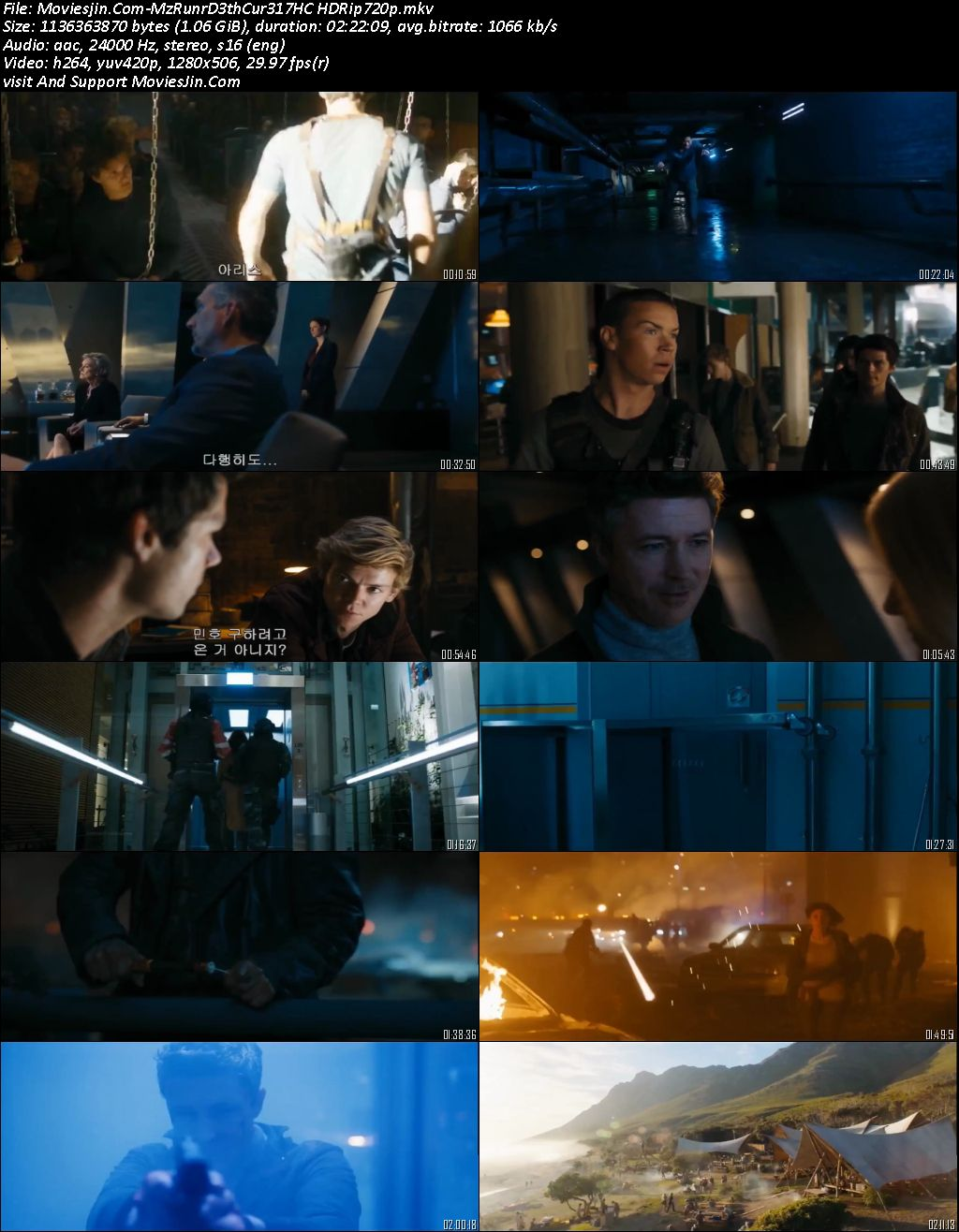 Maze Runner The Death Cure 2018 HC HD-Rip 720p 999Mb