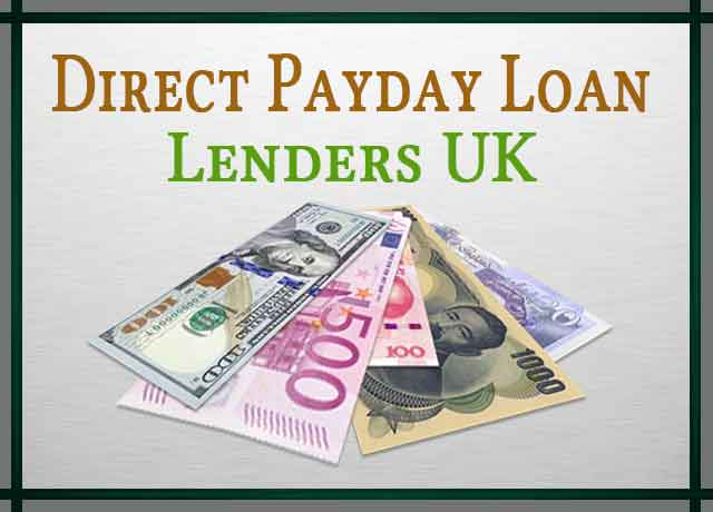 Direct Payday Loan Lenders UK