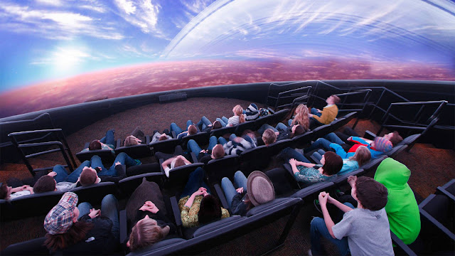The first 3D Planetarium in Italy is in Naples