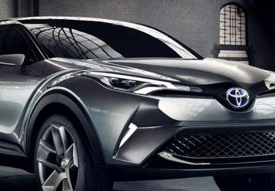 New Toyota C-hr Interior 2016