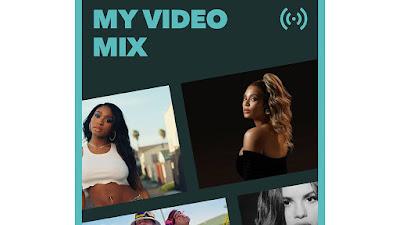 As listas de reprodução do TIDAL 'My Video Mix' ajudam os usuários a descobrir novos vídeos de música ...