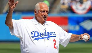 Picture of Laura's dad Tommy Lasorda