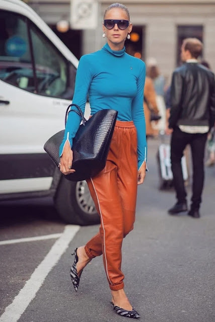 Стильный образ модные брюки 5-2