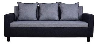Furny Herostyle 3 Seater Fabric Sofa Set