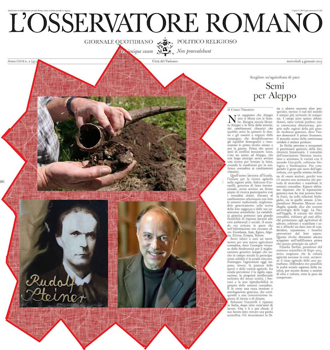 Práticas ocultistas de Rudolf Steiner, pregadas pelo seu discípulo Carlo Triarico no jornal criado para defender a Igreja!