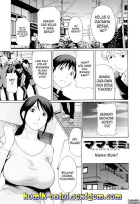 Manga Hentai Pompa Terus Memek Mama
