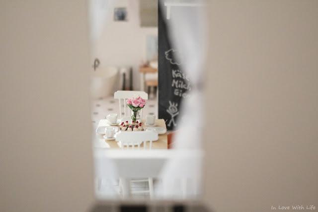 Puppenhaus renovieren DIY vorher nachher Küche
