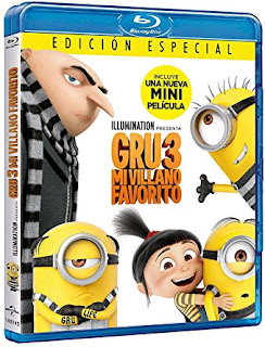 Sorteamos 2 Blu-ray de Spider-Man Homecoming y Gru, mi villano favorito 3