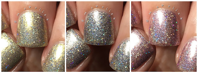 Takko Lacquer - Metallics in Poetry Trio - McPolish
