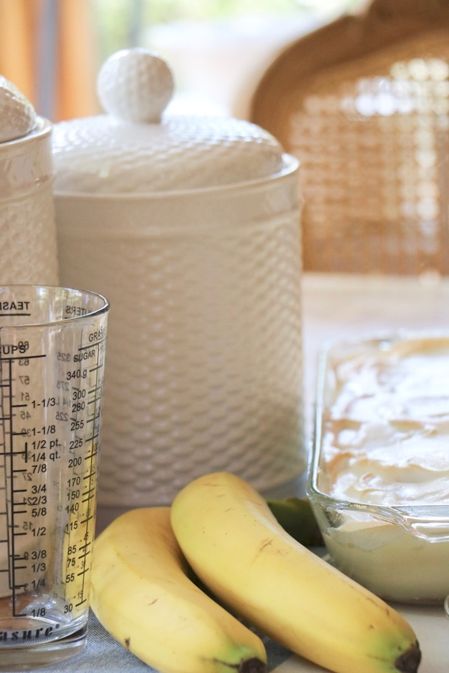 fresh ingredients make the difference in a homemade banana pudding recipe