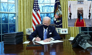 Joe Biden Signs Executive Orders to Undo Several Trump Policies Including Stopping Construction of Border Wall and Reversing Muslims Travel Ban