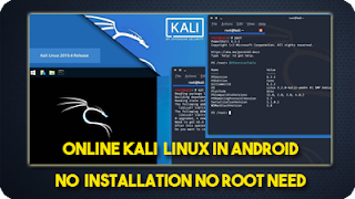 online kali linux in android