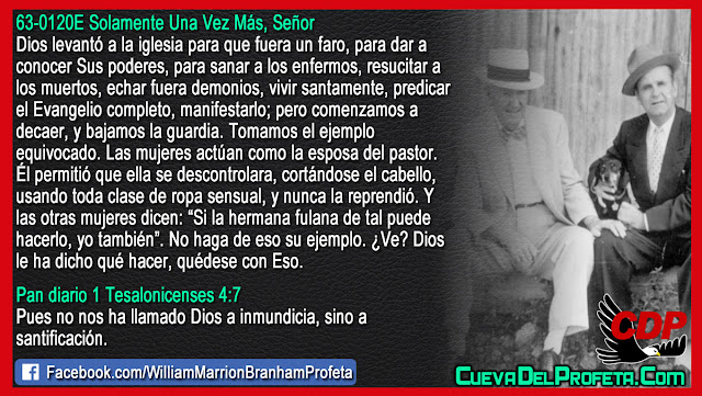 La iglesia comenzó a bajar la guardia - William Branham en Español