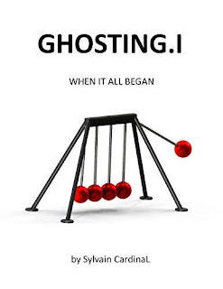 GHOSTING.I: When it All Began - private investigator mystery book promotion by Sylvain Cardinal