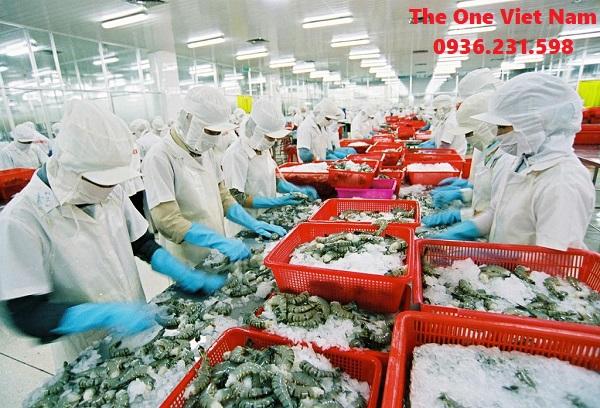 lắp đặt máy giặt công nghiệp cho công ty thủy sản