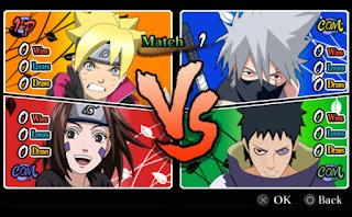 Kumpulan Game Mod Apk Naruto Shippuden Boruto