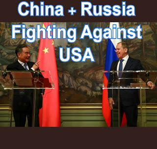 China and Russia fighting USA