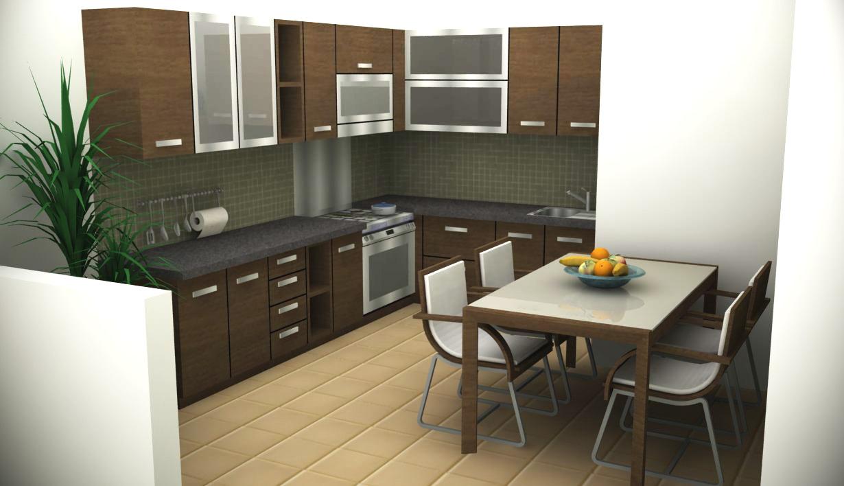 Ide Desain Interior Dapur Minimalis