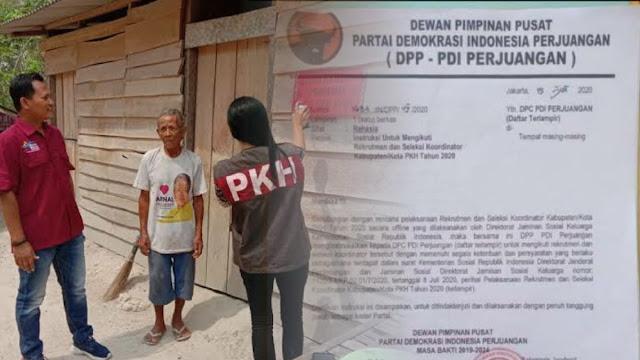 PDIP Ngotot Suruh Kadernya jadi Pendamping PKH Diduga Cari Keuntungan Jelang Pilkada