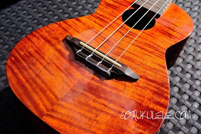 Harley Benton Kahuna CLU-42C ukulele body