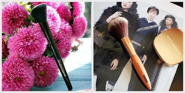 Бюджетные кисти - для контурирования лица Makeup Revolution и для пудры Diva & Nice Cosmetics / обзор, отзывы