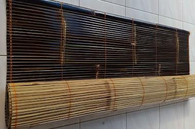 Krey Bambu / Tirai Bambu Kulit   Bambu Kuning / Bambu Hitam
