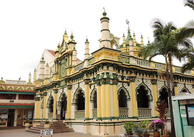 Những nhà thờ Hồi giáo đẹp nhất Singapore