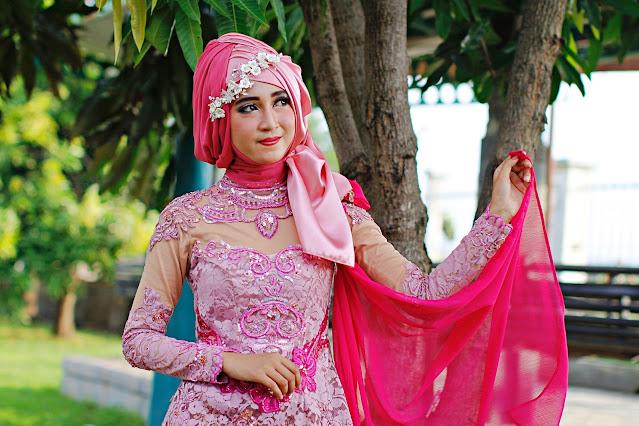 イード祭の時のムスリム(インドネシア)の晴れ着