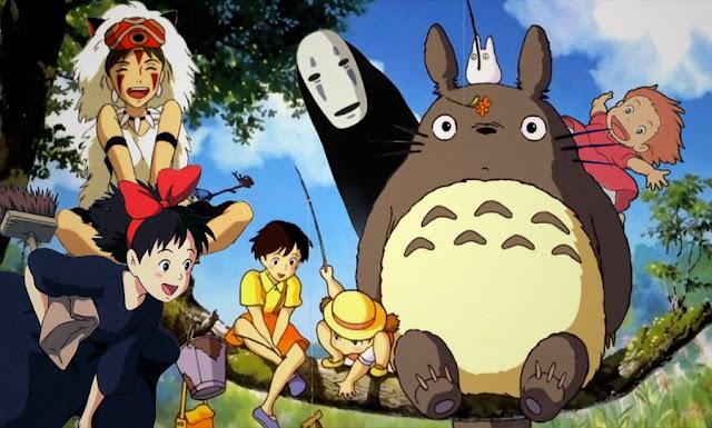 ANIME | Studio Ghibli libera imagens em alta resolução de várias de suas produções