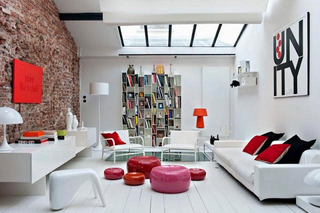 69c736c081f Loft Estilo Industrial. Industrial Interior Design With Loft Estilo ...