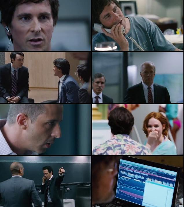 The Big Short 2015 English 480p WEB-DL 350mb ESubs