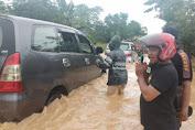 Luwu Diterjang Banjir, Akses Jalan Trans Sulawesi Lumpuh Total