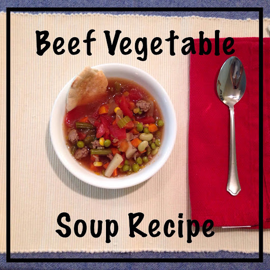 (Slow Cooker) Beef Vegetable Soup Recipe