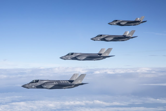UK F-35 missions Daesh Syria Iraq