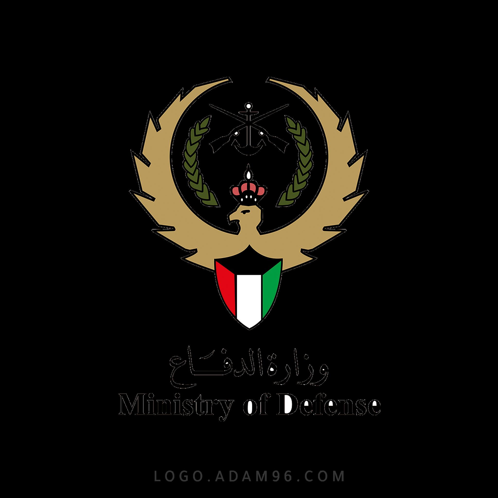 تحميل شعار وزارة الدفاع الكويت لوجو رسمي عالي الجودة PNG