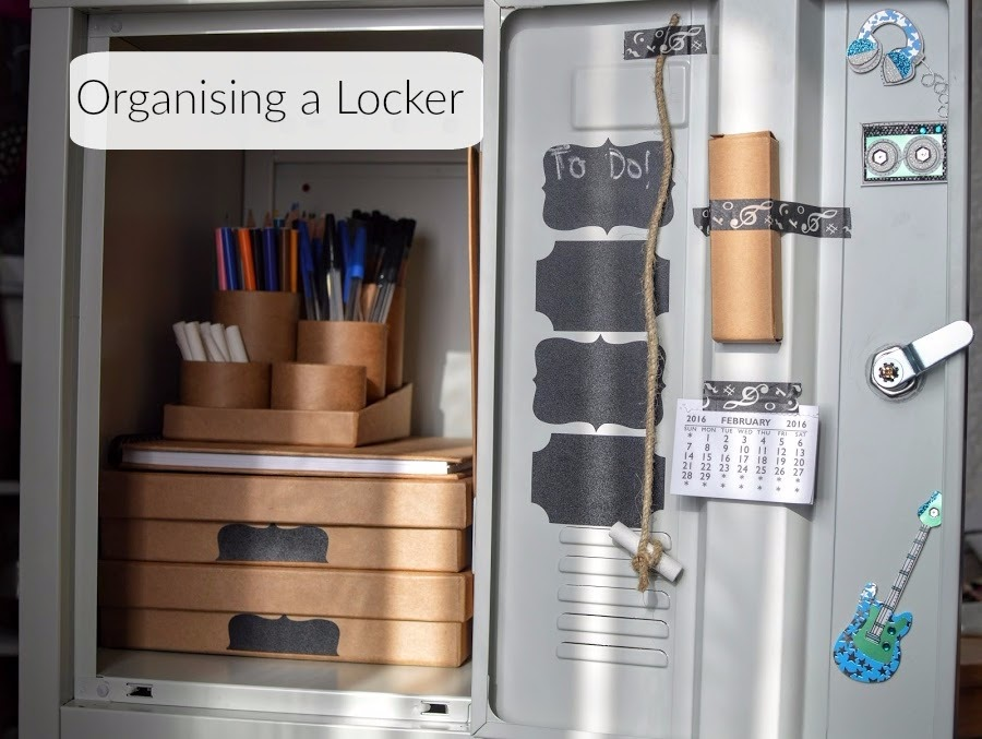 Organising a school locker