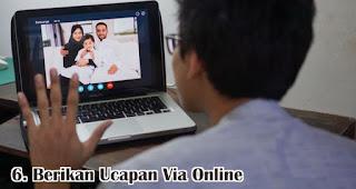 Berikan Ucapan Via Online merupakan cara seru untuk rayakan lebaran dirumah tanpa mudik