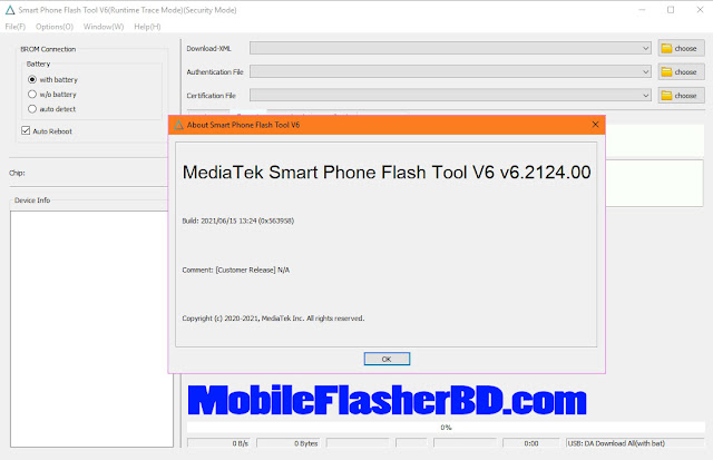 Latest SP Flash Tool v6.2124 With New User-Interface Option Visible Download
